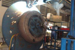 Welding, restoration, repairing