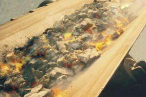 FIRE-RESISTANT STEEL-CORE BELT